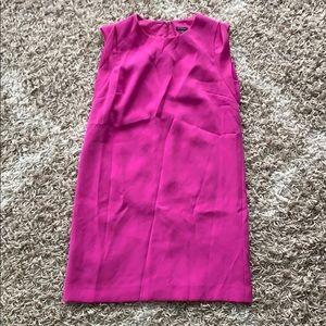 Fuchsia ANN TAYLOR shift dress in size 8